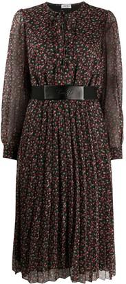 Liu Jo Floral-Print Pleated Dress