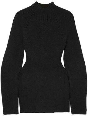 Chloé Cutout Ribbed-knit Sweater
