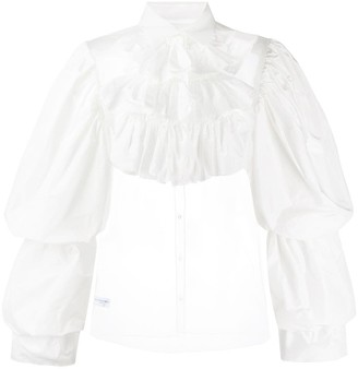 Viktor & Rolf Madam Hook ruffled shirt