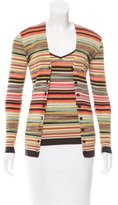 M Missoni Stripe Cardigan Set
