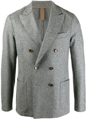 Eleventy Long-Sleeve Double Breasted Blazer