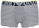 Emporio Armani Striped Stretch Microfiber Boxer Briefs