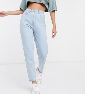 Wednesday's Girl high waist straight leg jeans in light wash