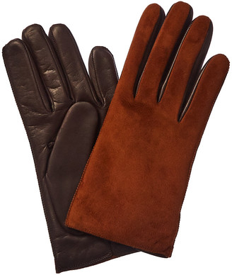 Portolano Suede & Leather Glove