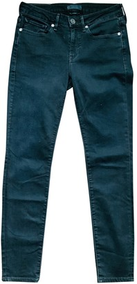 Levi's Made & Crafted Black Cotton - elasthane Jeans for Women