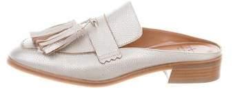 Aquatalia Pebbled Leather Mules w/ Tags