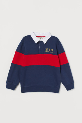 H&M Rugby Shirt - Blue