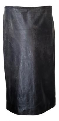 Jean Paul Gaultier Grey Leather Skirts