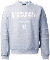 Yoshio Kubo logo print sweatshirt