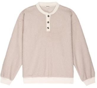 DONNI Mini Teddy Henley Sweatshirt
