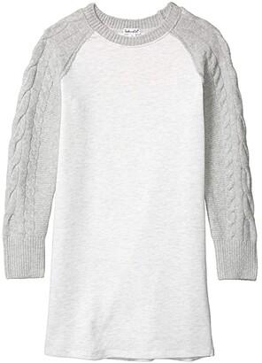 Splendid Littles Sweater Knit Fleece Dress (Big Kids)