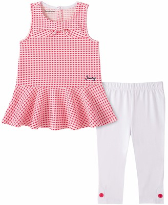Juicy Couture Girls' 80I02011-99 Pants Set