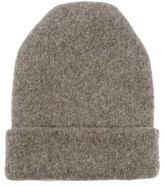 LAUREN MANOOGIAN Carpenter Alpaca-blend Beanie Hat - Womens - Grey