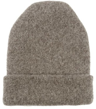 LAUREN MANOOGIAN Carpenter Alpaca-blend Beanie Hat - Grey