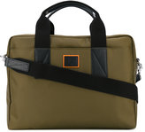 Paul Smith classic laptop bag - men - Leather/Nylon - One Size