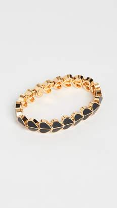 Kate Spade New York Enamel Heart Stretch Bracelet