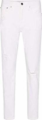 Calvin Klein Jeans Women's CKJ 030 HIGH Rise Straight Ankle Jeans