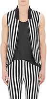 John Varvatos MEN'S STRIPE-APPLIQUÉD VEST SIZE 46