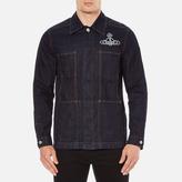Vivienne Westwood Men's Workers Jacket Blue Denim