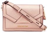 Karl Lagerfeld Women's K/Klassik Super Mini Cross Body Bag Metallic Rose