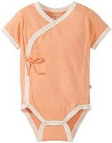 Baby Soy Kimono Bodysuit (Baby) - Cantaloupe-0-3 Months