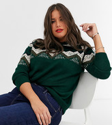 Junarose patterned sweater