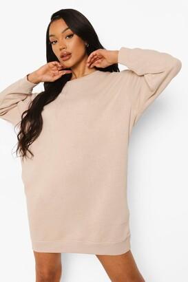 boohoo Loose Fit Sweater Dress