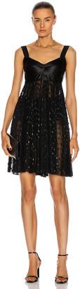 Dolce & Gabbana Sleeveless Mini Dress in Black | FWRD