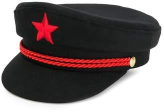 Manokhi back message hat