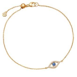 Astley Clarke Evil Eye Fine Biography Sapphire Bracelet