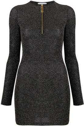 GCDS Glitter lurex mini dress