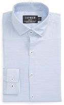 Topman Men's Slim Fit Bias Stripe Dress Shirt