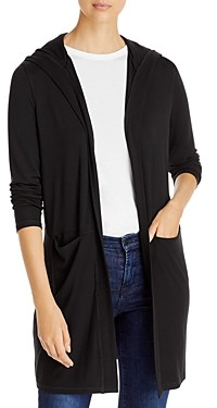 Andrew Marc Peaceful Yoga Hooded Cardigan