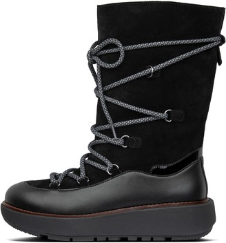 FitFlop Skandi Suede Calf-Length Boots