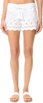 OndadeMar Miranda Embroidered Shorts