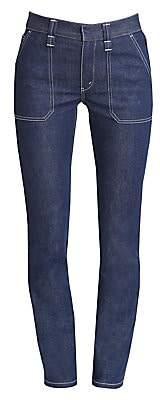 Chloé Women's Straight-Leg Stretch-Cotton Jeans