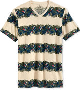 American Rag Men's Floral Stripe T-Shirt, Only at Macy's