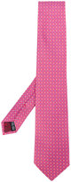 Salvatore Ferragamo geometric pattern tie - men - Silk - One Size