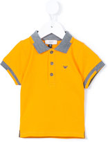 Armani Junior classic polo shirt - kids - Cotton - 6 mth