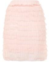 Rare **Layered Ruffle Mini Skirt