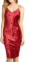 Minx Red Velvet Dress