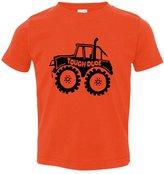 Allntrends Toddler T Shirt Tough Dude Kids Funny T Shirt
