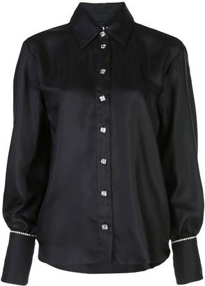 Victoria Hayes Rhinestone Embellished Shirt