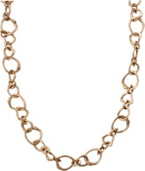Lucifer Vir Honestus Gold Link Chain Necklace