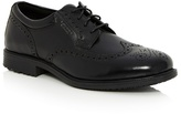 Rockport Black Lace Up Brogues