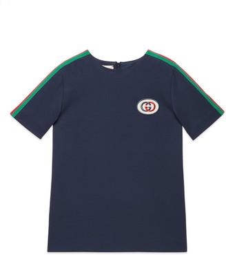 Gucci Embroidered Stripe Tunic