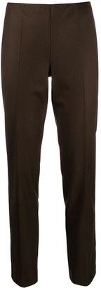 P.A.R.O.S.H. Mid-Rise Tapered Trousers
