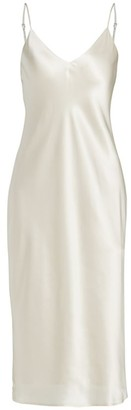 L'Agence Jodie Silk Slip Dress