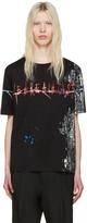 Haider Ackermann Black we Are All Dust T-shirt