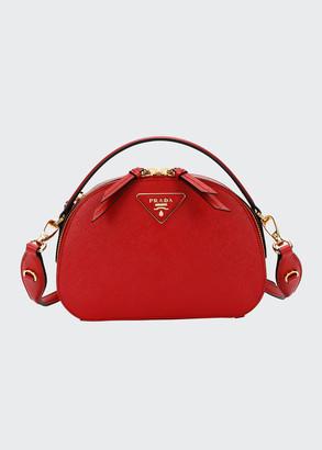Prada Lux Saffiano Rounded Satchel Bag